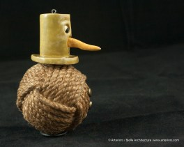 Bjella Snowman Ornament - Day 11 - Rope-18