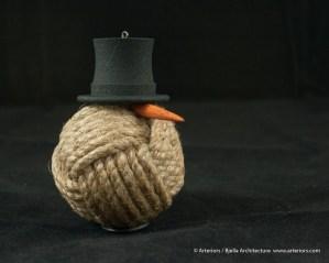 Bjella Snowman Ornament - Day 11 - Rope-33