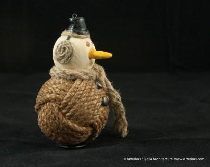 Bjella Snowman Ornament - Day 11 - Rope-8