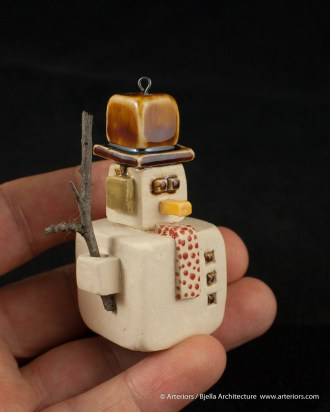 Bjella Snowman Ornament - Day 12 - Tectonic-108