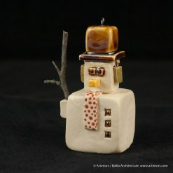 Bjella Snowman Ornament - Day 12 - Tectonic-59