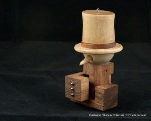 Bjella Snowman Ornament - Day 13 - Puzzle-22