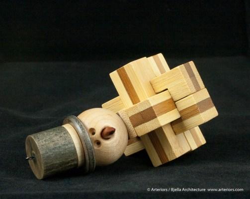 Bjella Snowman Ornament - Day 13 - Puzzle-29
