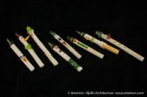 Bjella Snowman Ornament - Day 8 - Canes-1