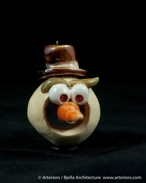 Bjella Snowman Ornament - Day 8 - Monsters-57
