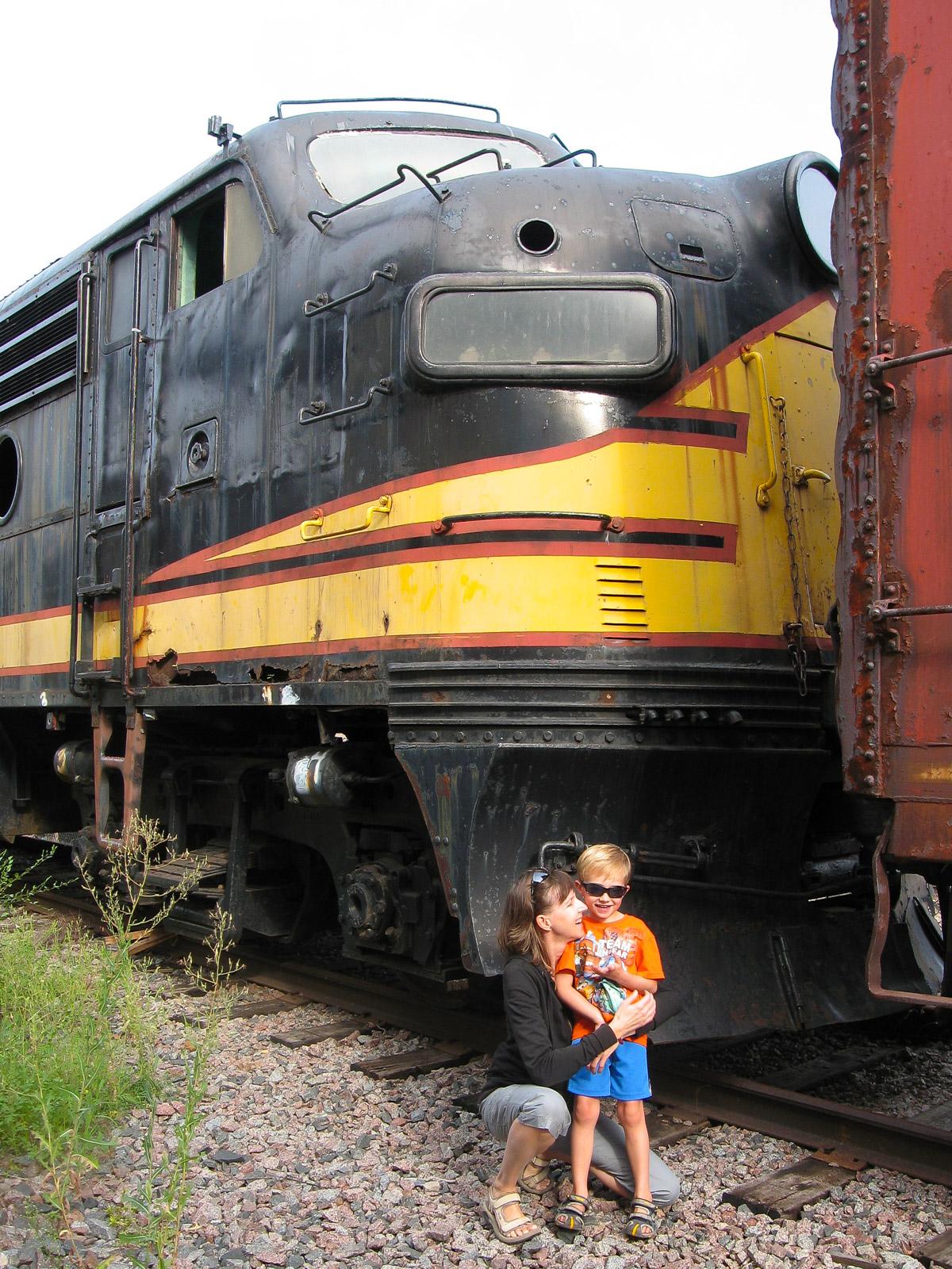 Bjella Family at Trainyard-2