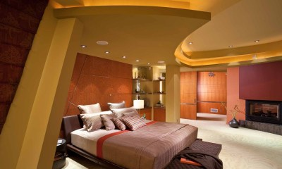 Bjella-Architects-Modern-Bedroom-with-Curved-Ceiling