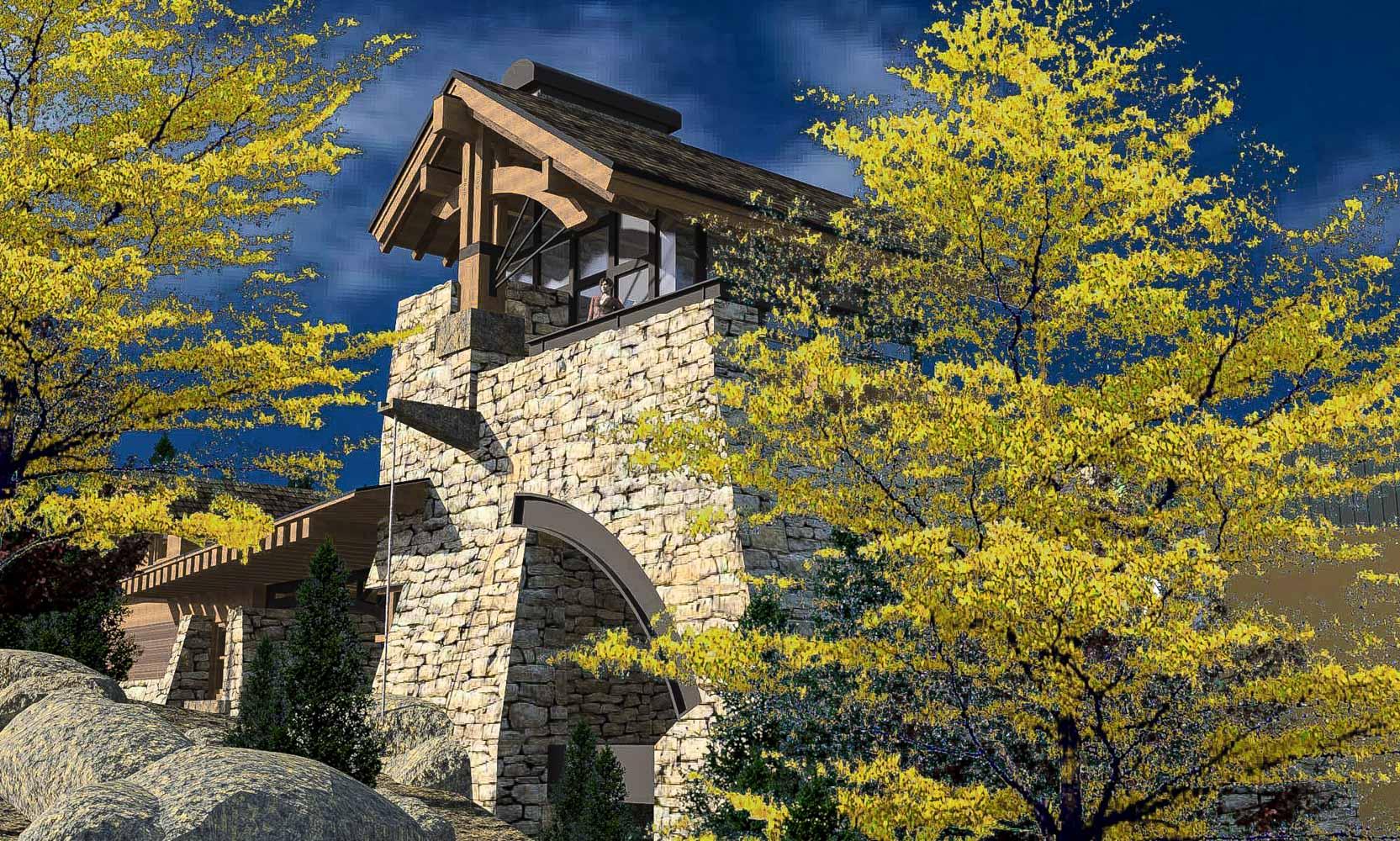 Bjella-Architects-Modern-Mountain-Home-Tower