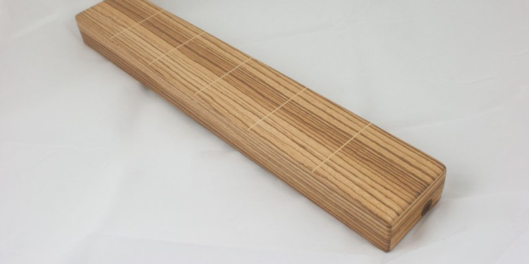 Custom Flute Case by Tim Bjella for Skip Healy Keyless Chromatic Flute - Shown Closed