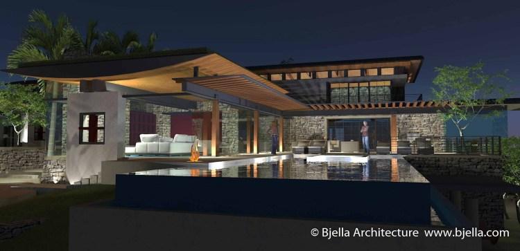 Los Angeles Hilltop Modern Glass House, Calabasas California