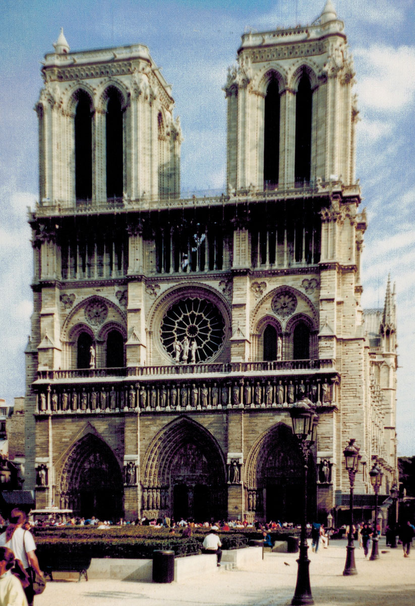 Notre Dame Cathedral - Paris, France-7