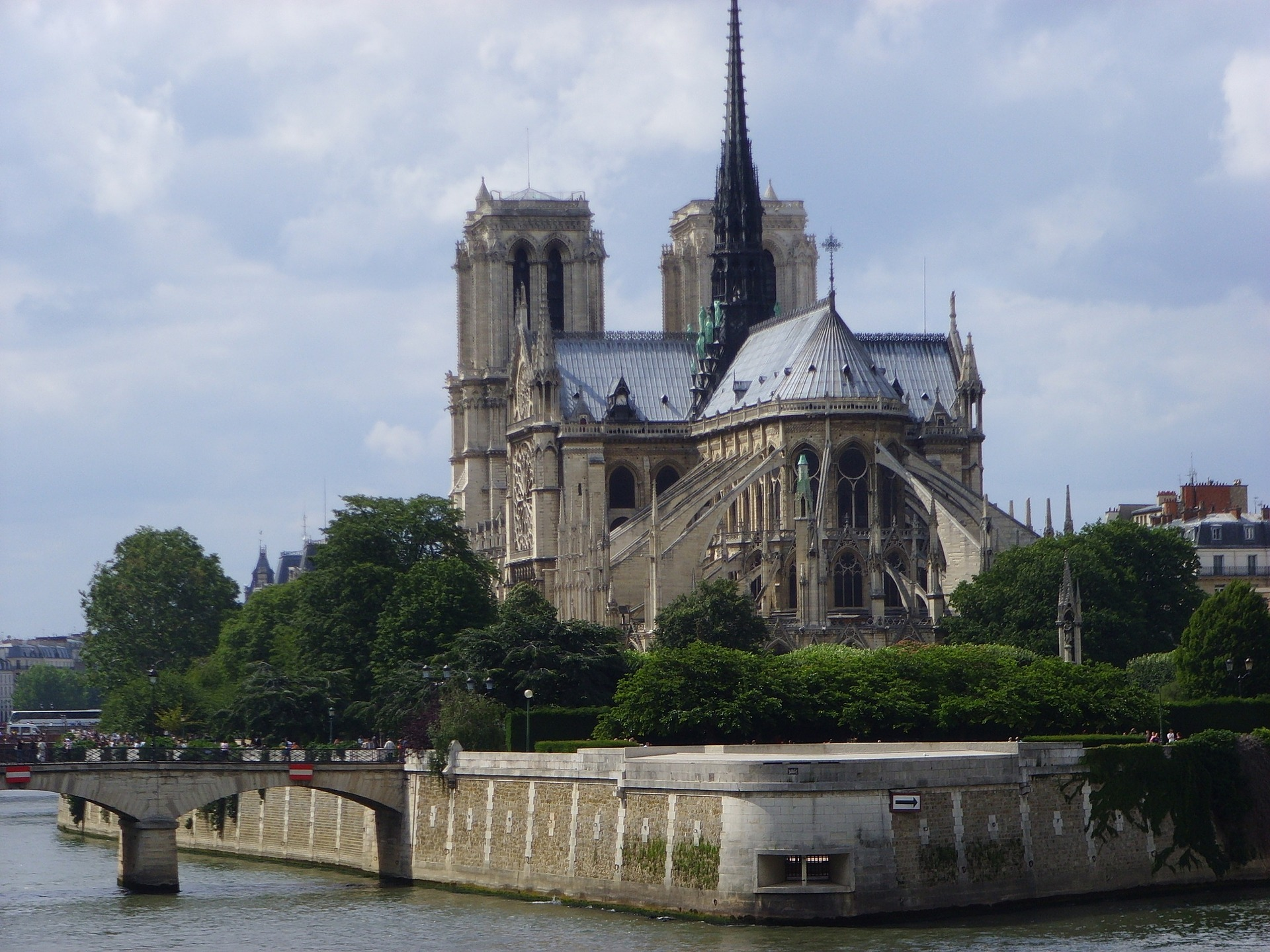 Notre Dame Cathedral Paris France Bjella Architects