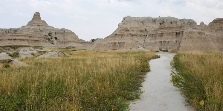 The Badlands, South Dakota. Still not sure why they are so bad. The interstate, on the other hand...