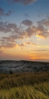 Yawn. Another beautiful sunset over the Badlands, South Dakota