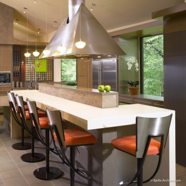 Modern Kitchen Center Island