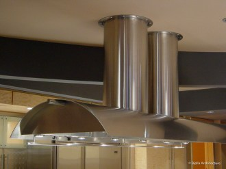Custom Designed Barrel Arch Stainless Vent Hood