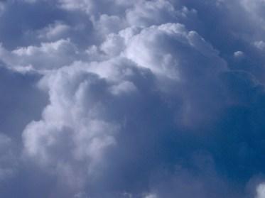 Skyen over Spanien. Foto: Jane Jensen