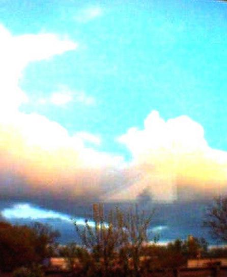 Skyen på himlen over Ballerup. Foto: Nathalie Saltz