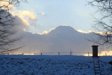 Skyen, et år efter den forsvandt - nu i Kragevig. Foto: Pia Juul