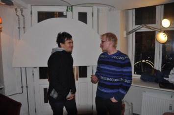 Nik Tan og Frederik Bjerre Andersen