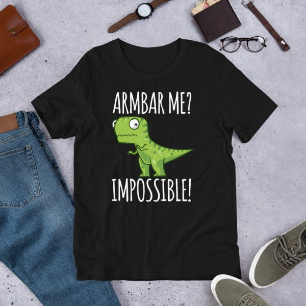 Brazilian Jiu-Jitsu T-Shirt Armbar T-rex? not possible! 1