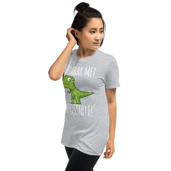 Women BJJ shirt - Brazilian Jiu-jitsu Armbar T-rex? not possible 14