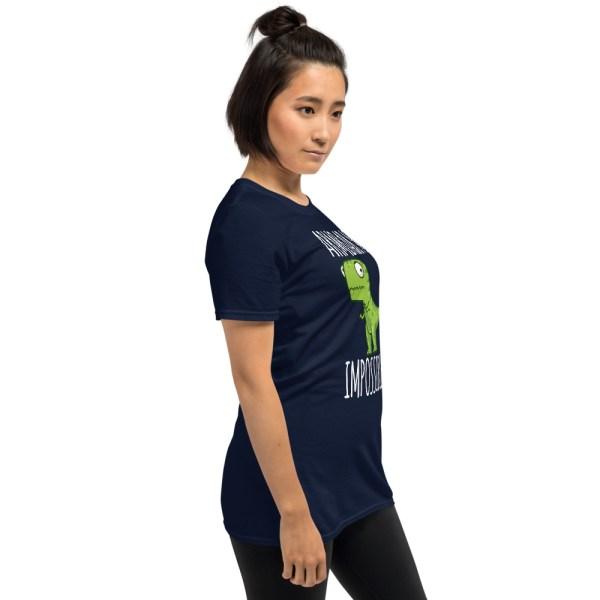 Women BJJ shirt - Brazilian Jiu-jitsu Armbar T-rex? not possible 7