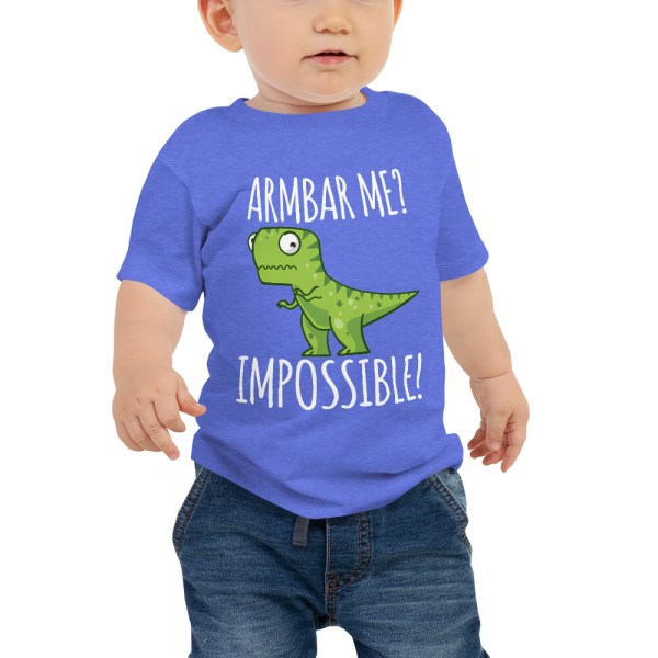Baby Tee BJJ shirt - Brazilian Jiu-jitsu Armbar T-rex? not possible 2