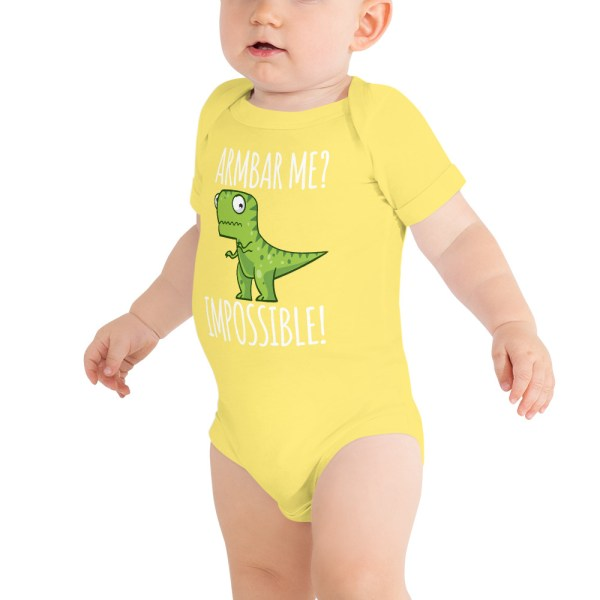 Baby Body Suite Brazilian Jiu-jitsu Armbar T-rex? not possible 4