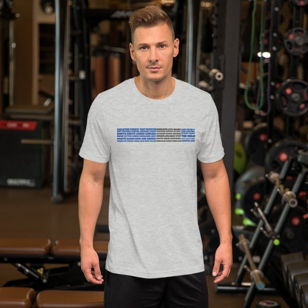 Show Your Rank By BJJ Short-Sleeve T-Shirt Brazilian Jiu-Jitsu BJJ Blue Belt – BJJ Submission 5