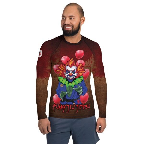 BJJ Men's Rash Guard The scariest Clown - IT 1