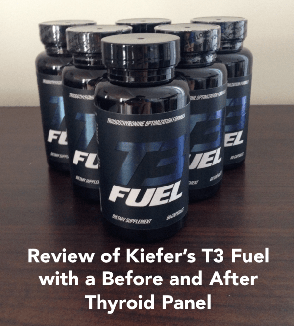 Review of Kiefers T3 Fuel with a before and after thyroid panel