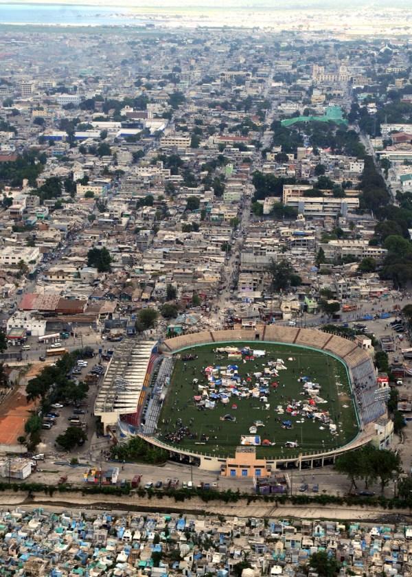Port AU Prince Haiti Stadium