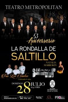 RONDALLA DE SALTILLO CARTEL MAYO 2019