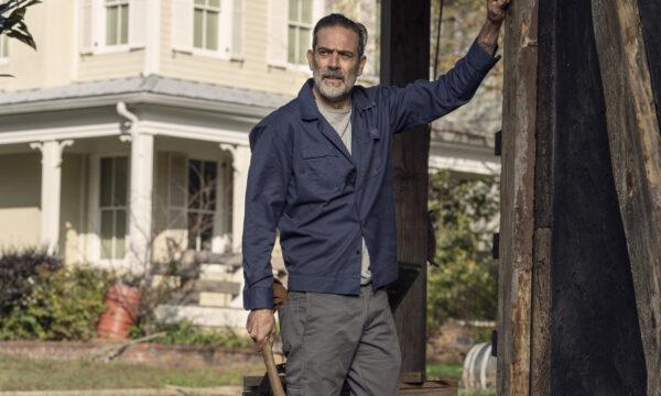 Jeffrey Dean Morgan as Negan - The Walking Dead _ Season 10, Episode 22 - Photo Credit: Josh Stringer/AMC