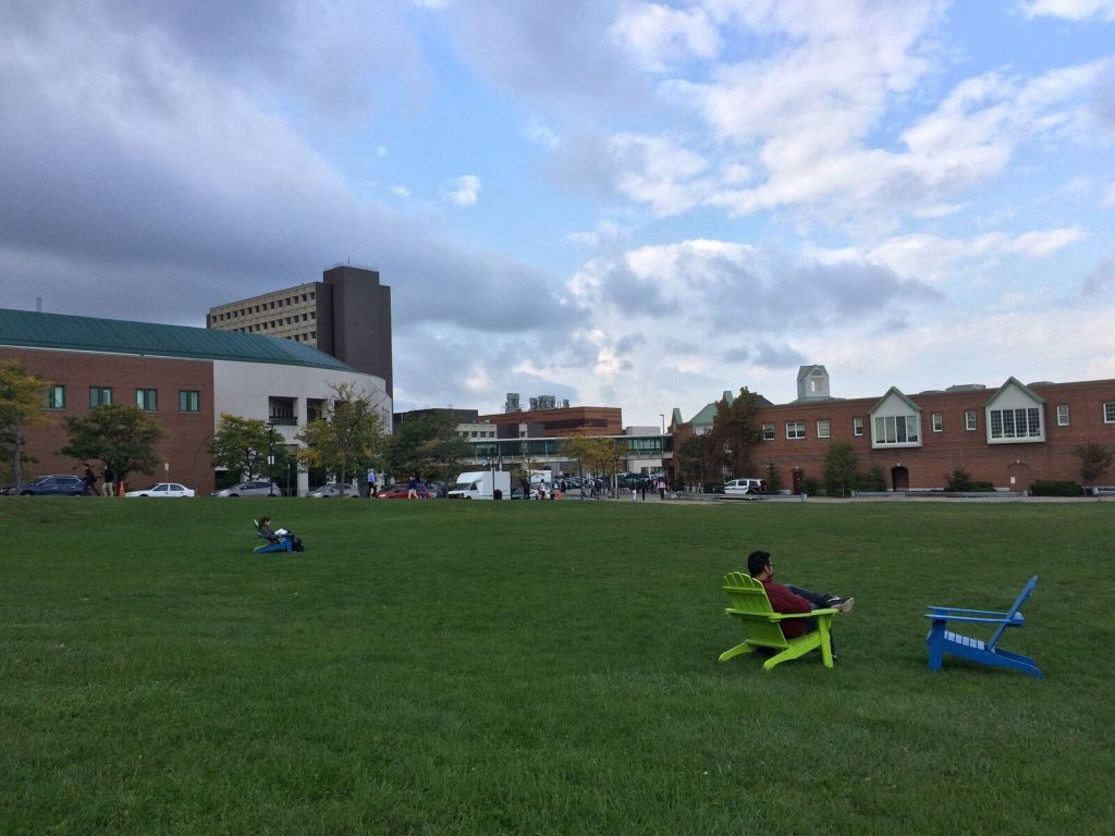 University at Buffalo photo taken by BJ Mendelson