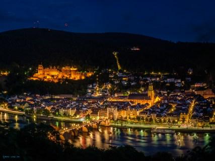 Blutmond über Heidelberg