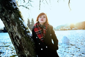 Modelshoot Sedcard Fashion Snow Winter