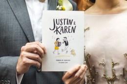 Justin x Karen via behance.net