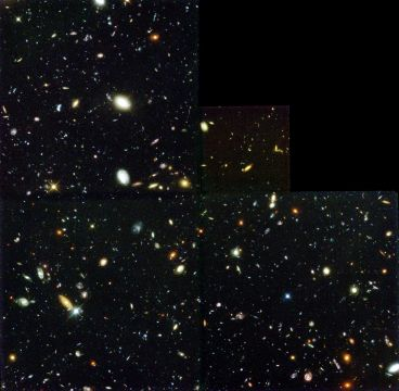 Hubble Deep Field photo by NASA