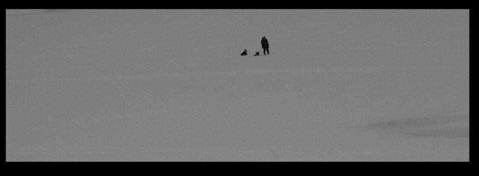 Ice fishing, Sandspollen, Hurum, by Bjørn Heidenstrøm