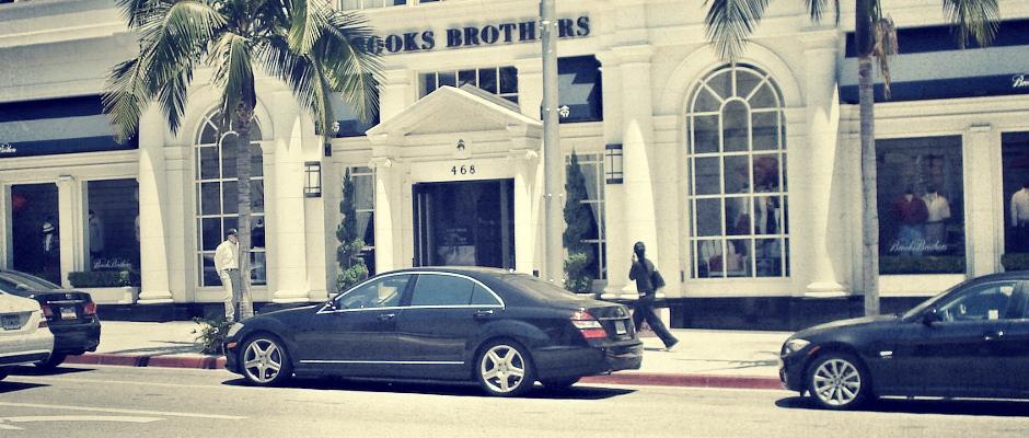 Fina hus, snygga bilar och exklusiv shopping
