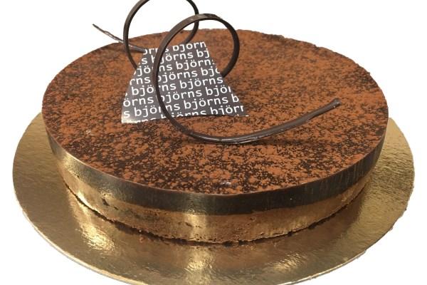 Choklad och kolatårta