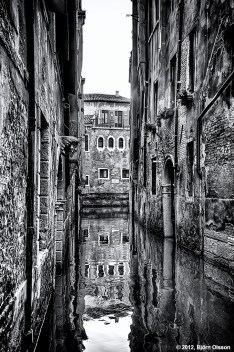Water Alley in Venice