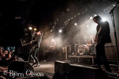 Rival Sons @ KB, Malmö. Nov 19, 2014.