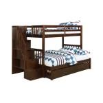 Berkley Jensen Stairway Twin Over Full Size Bunk Bed Bjs Wholesale Club