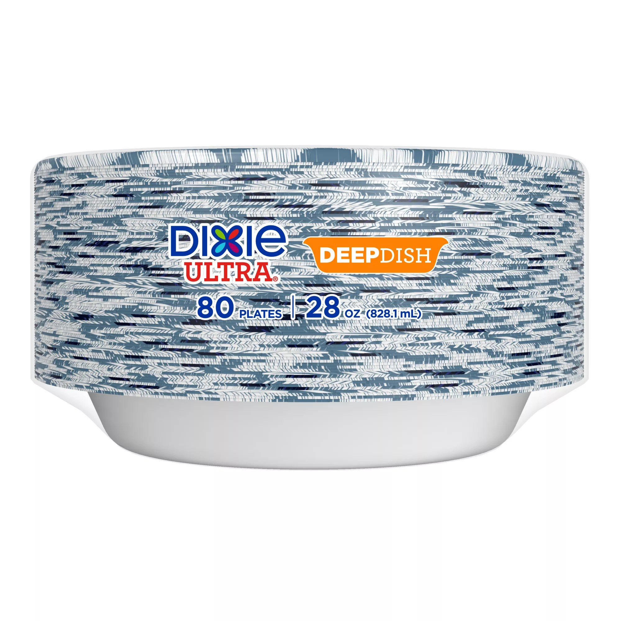 dixie ultra deep dish paper plate 80 ct