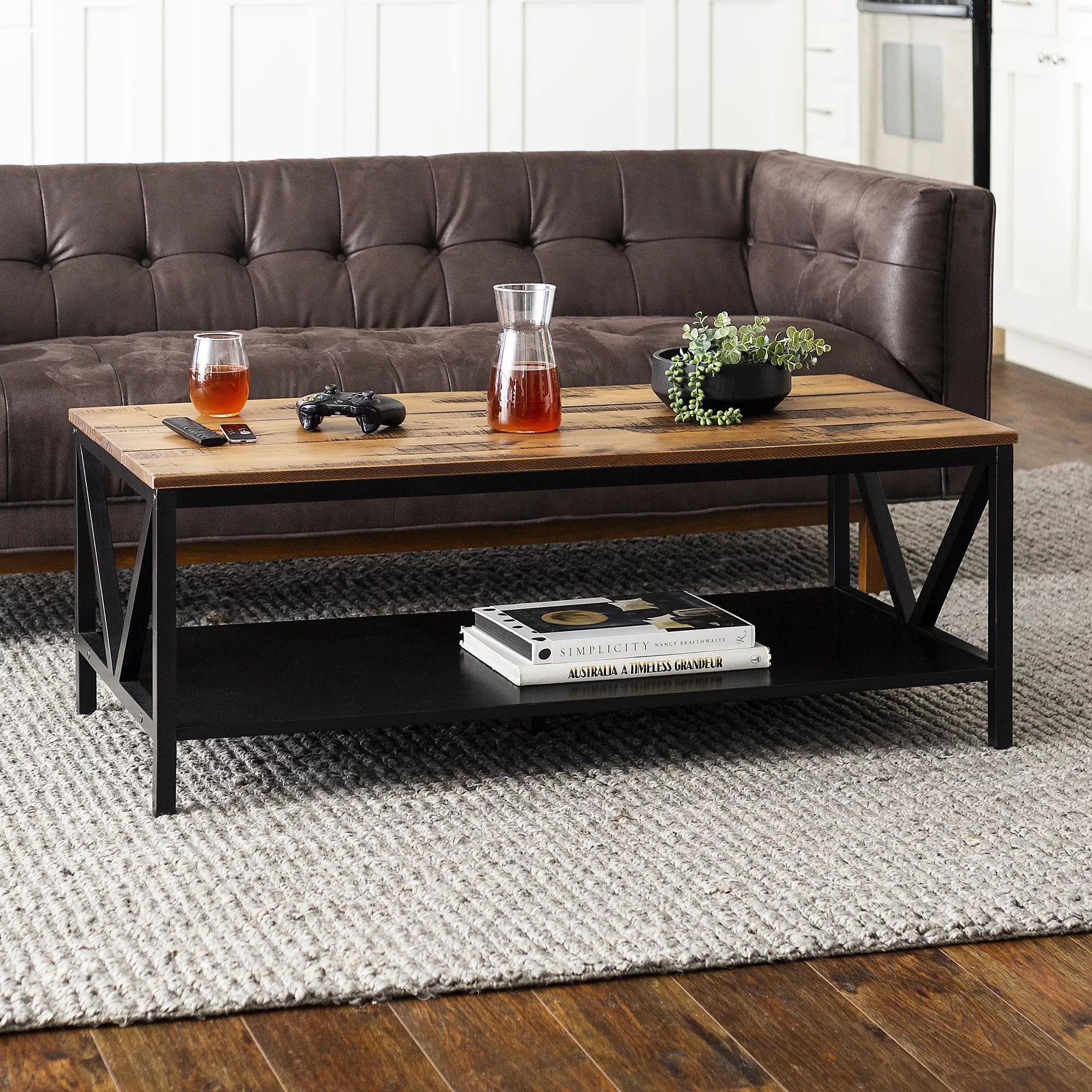 Distressed Farmhouse Solid Wood Coffee Table 48 Bjs Wholesale Club