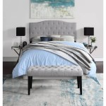 Northridge Home Queen Size Upholsteed Headboard And Bench Bjs Wholesale Club