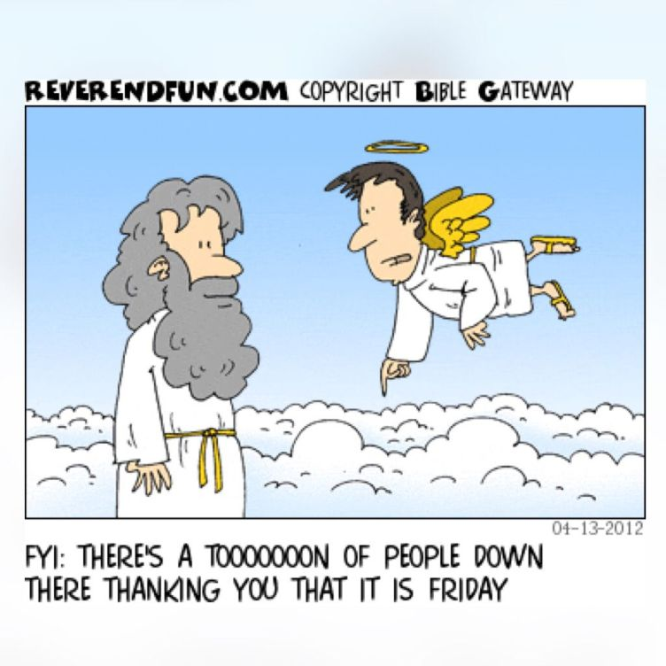 thank god it is friday cartoon